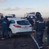 В утреннем ДТП в Черноморском районе Крыма погибли четыре человека
