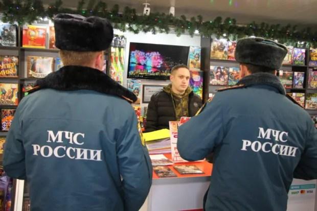 В Крыму проверяют точки реализации пиротехнических изделий