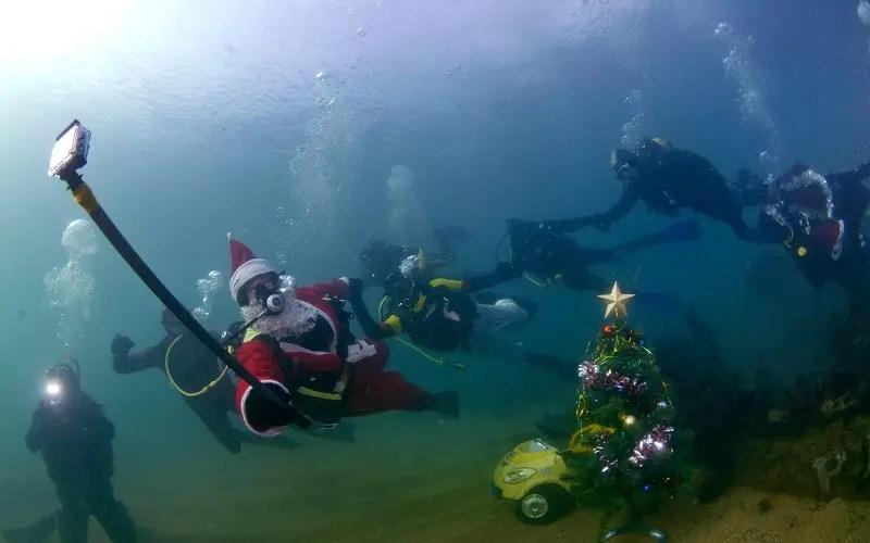 У крымских дайверов будет свой «атмосферный» подводный Новый год