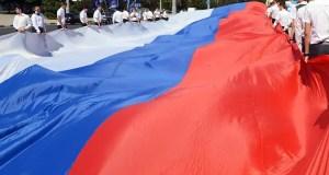 Завтра в «Артеке» развернут огромный флаг России