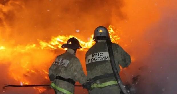 Пожар в южнобережном Симеизе