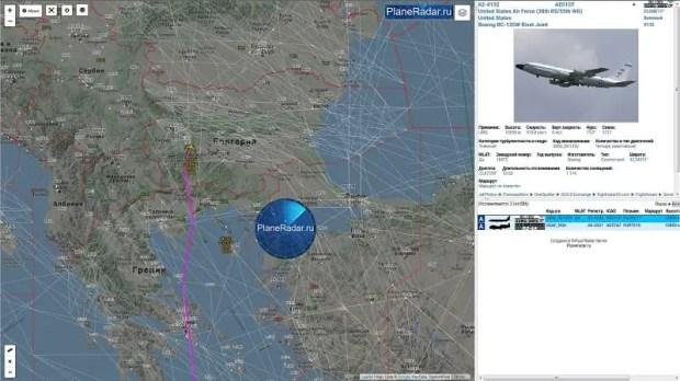 Очередной разведывательный полет у берегов Крыма, счет уже пошел на сотни