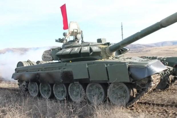 На Черноморском флоте прошёл первый этап конкурса «Танковый биатлон» в рамках АрМИ-2020