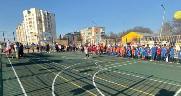 В Евпатории завершили обустройство трёх спортплощадок