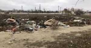 В Евпатории экологи обнаружили несанкционированную свалку отходов