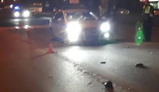 ДТП в Симферополе: пострадал пешеход