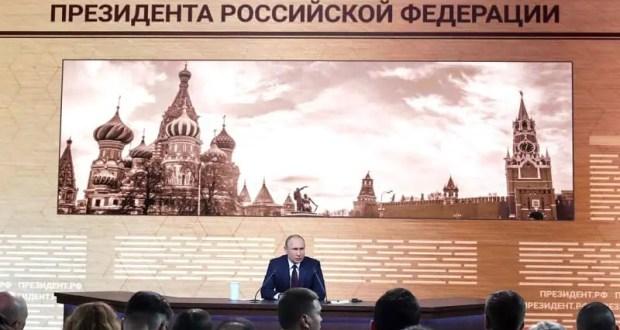 Большая пресс-конференция Президента России: вопрос из Крыма прозвучал