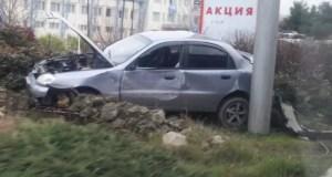 Утреннее ДТП в Севастополе: автобус «догнал» легковушку