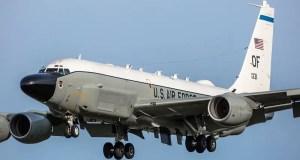Самолёт радиоэлектронной разведки ВВС США заинтересовался побережьем Крыма