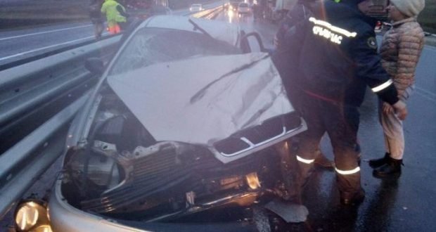 "ДТП на трассе ""Таврида"" - пострадали четыре человека"