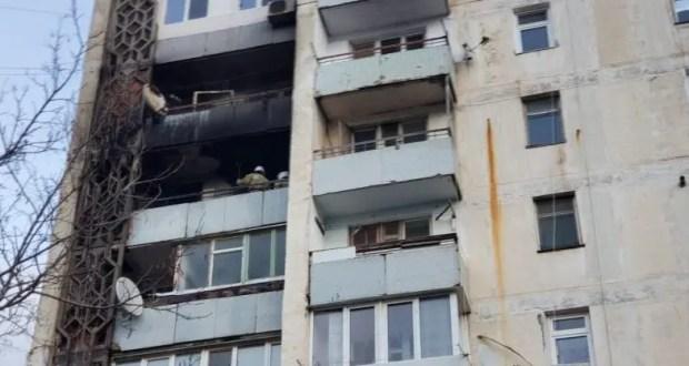 Пожар в г. Саки - жильцов дома довелось эвакуировать