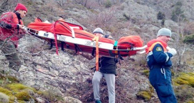 Инцидент на горе Аю-Даг: на вершину женщина взошла, но спускалась на носилках