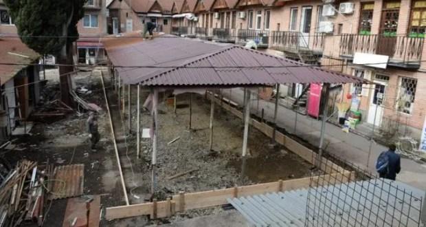 Капитальный ремонт Пушкинского рынка в Ялте обещают завершить к Первомаю