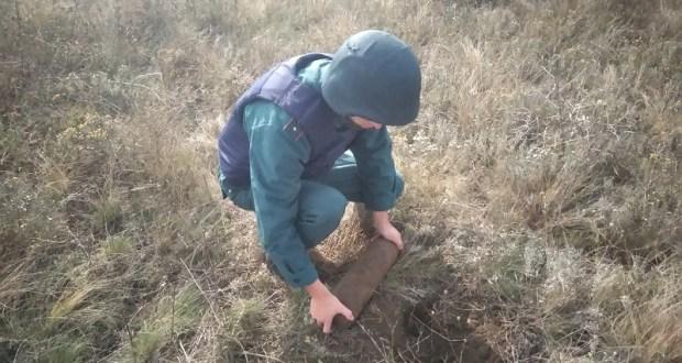 В Керчи обезврежен взрывоопасный предмет времен Великой Отечественной войны