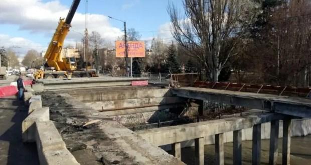 Официально: мост на улице Гагарина в Симферополе будет готов к эксплуатации в марте