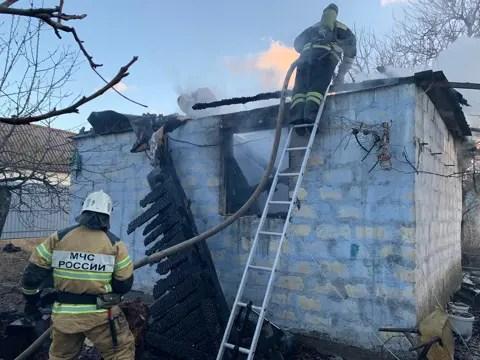 В Гагаринском районе Севастополя при пожаре погиб человек