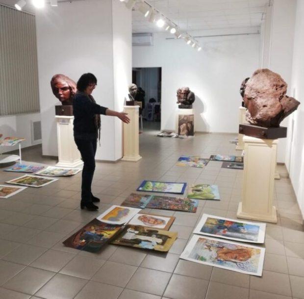 21 февраля в Херсонесе подведут итоги конкурса детского творчества «Миры мастера Эрьзи»
