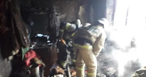 В Феодосии на пожаре эвакуированы десять человек