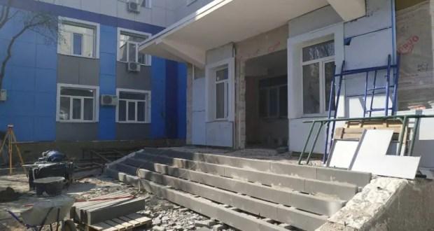 Капитальный ремонт севастопольской поликлиники №3 выполнен на 75%