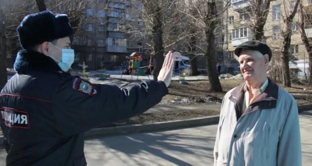 Крымская полиция проверяет граждан на соблюдение режима самоизоляции