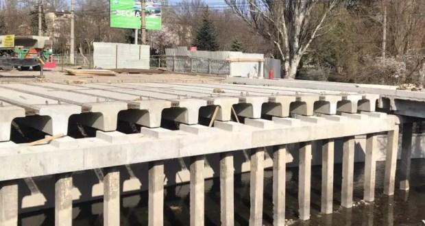 Коронавирус коронавирусом, а ремонт моста на улице Гагарина в Симферополе продолжается