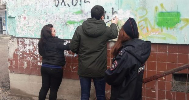 """По улицам Бахчисарая прошёлся """"Антинаркотический десант"""""""