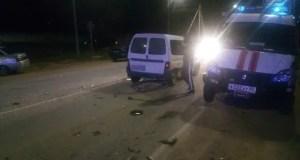 ДТП в г. Старый Крым: не разминулись три легковушки. Погибли два человека