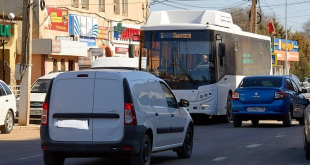 В Саках проверили работу общественного транспорта