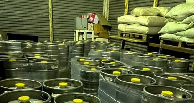 В Крым не пустили девять тысяч литров «левого» пива