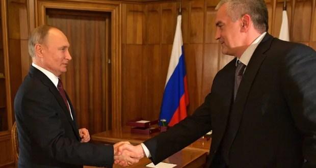 Сергей Аксёнов подвел некоторые итоги рабочей поездки Владимира Путина в Крым и Севастополь