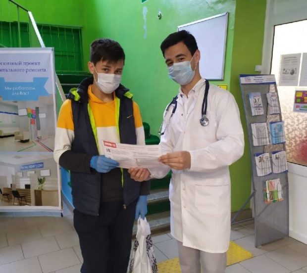 Студенты и преподаватели КФУ помогают врачам Симферопольской клинической больницы