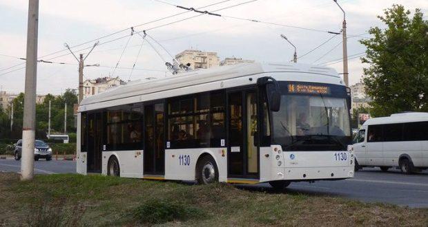 Севэлектроавтотранс возобновил движение троллейбусов на маршрутах №14 и №17