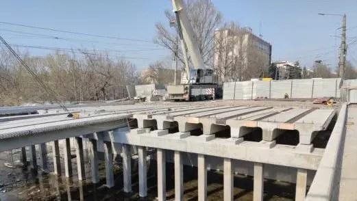 Движение на мосту по ул. Гагарина в Симферополе планируют открыть 20 апреля