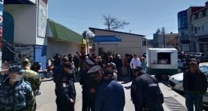 В Керчи предприниматели вышли на улицу, чтобы рассказать властям о проблемах