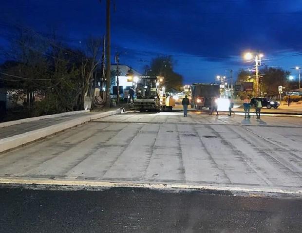 Сегодня вечером в Симферополе возобновится движение транспорта по мосту на улице Гагарина