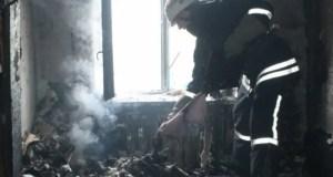 В Алуште на пожаре погиб человек