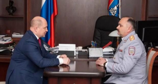 Павел Гищенко - новый начальник УМВД России в Севастополе