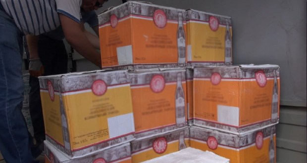 В Севастополе изъяли крупную партию немаркированной алкогольной продукции