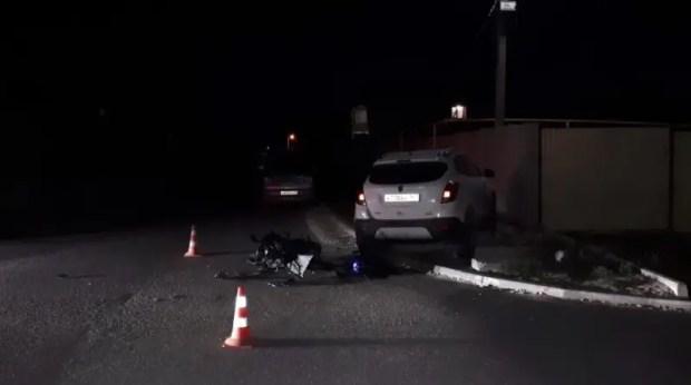 В Симферополе сотрудники полиции проводят проверку по факту ДТП с участием несовершеннолетних