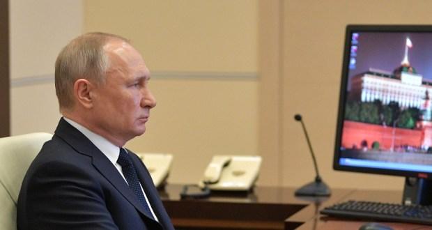 Владимир Путин провел совещание по коронавирусу в онлайн-режиме