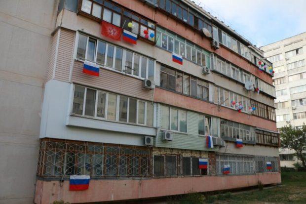 Севастополь отметил 9 мая коллективным исполнением «Дня Победы»