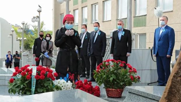 В крымской столице прошли памятные мероприятия ко Дню памяти жертв депортации