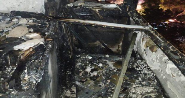 Спасены 3 человека, эвакуированы 10. Пожар в Евпатории