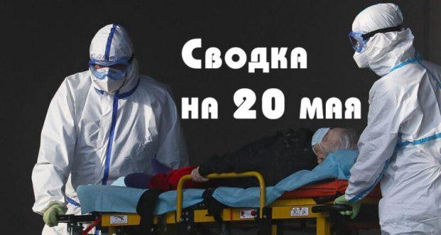 В России – свыше трехсот тысяч заразившихся коронавирусом