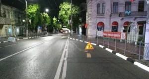 В Симферополе обновляют дорожную разметку