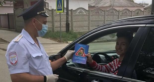 В Джанкое госавтоинспекторы проверили водителей на соблюдения требований ПДД при перевозке детей