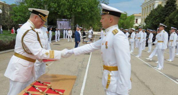Севастопольское Нахимовское училище выпустило 173 молодых офицера