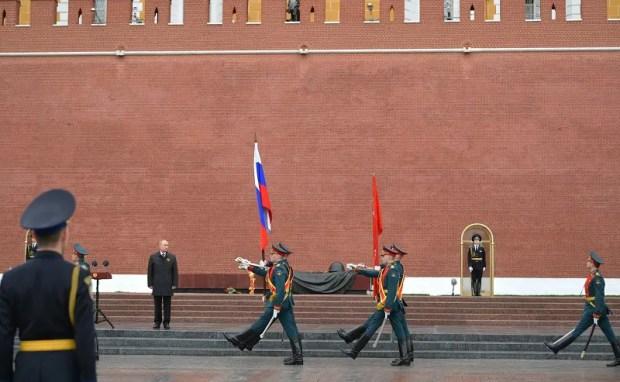 75-летие Великой Победы. Владимир Пути поздравил россиян