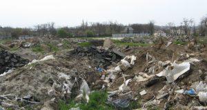 В районе военного кладбища в Керчи обнаружили несанкционированные свалки