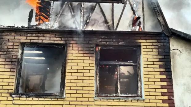 На пожаре в Феодосии погиб пятилетний ребенок